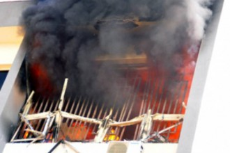 Fire destroys INEC office in Imo State