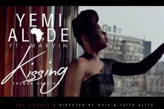 [MUSIC VIDEO] Yemi Alade – Kissing (French Remix) ft. Marvin