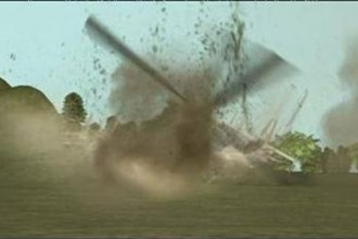 Airforce helicopter crashes in Lagos