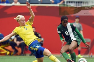 Super Falcons holds Sweden to a 3-3 draw in a thrilling Match