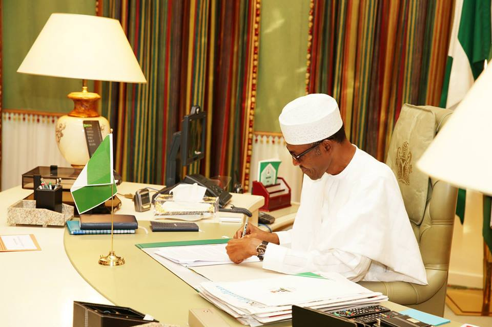 Image result for buhari's office
