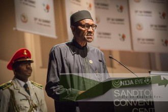 [TRANSCRIPT] President Buhari's Speech at the 25th Assembly of Heads of State & Govt of the AU (READ)