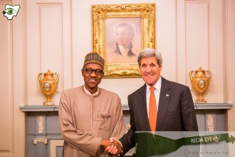 [VIDEO] President Buhari and US Sec. of State John Kerry Hold a joint Press Conference