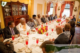 [PHOTO NEWS] President Buhari and US Sec. of State John Kerry at the US State Department