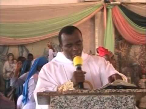 """I am praying to God for Buhari's Protection"" – Rev Fr Mbaka"