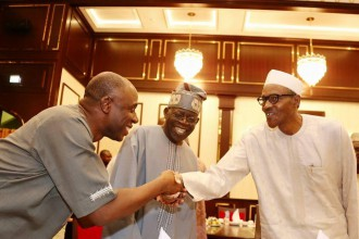 [PHOTO NEWS] Amaechi,Tinubu,Ogbeh others join Buhari to Break Ramadan Fast
