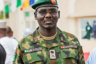 [BREAKING] Nigeria Chief of Army Staff escapes Boko Haram Attack,5 people dead