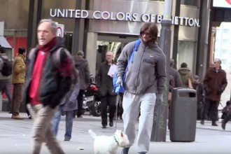 [VIDEO] Cristiano Ronaldo plays Undercover on the Street of Madrid