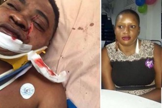 [GRAPHIC PHOTOS] Nigerian Man stabbed by Ugandan Girlfriend in Malaysia