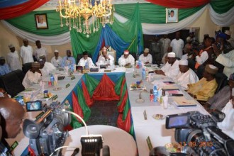 [PHOTO NEWS] Northern Governors assemble for NGF Meeting in Borno State