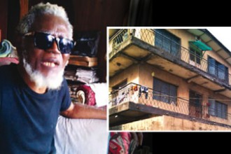 [UNBELIEVABLE] Prof. Theo Vincent, ex-UNIPORT Vice Chancellor now lives in a slum (BLIND & BROKE)
