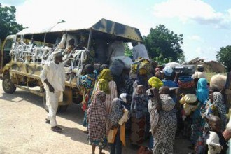 [PHOTO NEWS] Nigeria Military Rescues 241 Women & Children