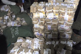[PORT HARCOURT] Police Recover 120 Million Naira in foiled Robbery (PHOTOS)