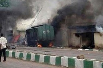 [BREAKING] 4 female suicide bombers attack Maiduguri this morning,Over 22 killed