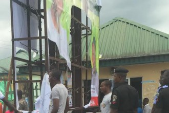 Protest in Bayelsa APC secretariat over Sylva's running mate