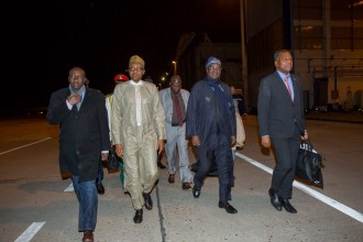 [BREAKING] Buhari arrives Paris,France embarrassed at the Airport.(PHOTOS)