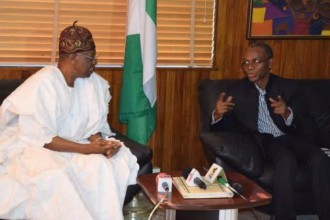 [PHOTO NEWS] Kaduna State Gov.El Rufai visits Lai Mohammed in Abuja