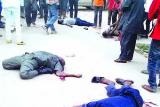 [PHOTO NEWS] Drunk policeman kills twin brothers and friend (GRAPHIC PHOTO)