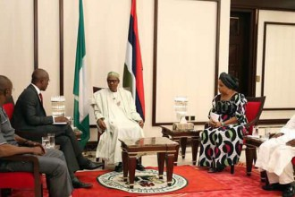 [VIDEO] Buhari reacts to #Biafra Leader Nnamdi Kanu,#DSS during the Media Chat