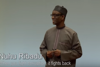 [VIDEO] How I jailed Tafa Balogun,James Ibori & Emmanuel Nwude by Ribadu in Berlin
