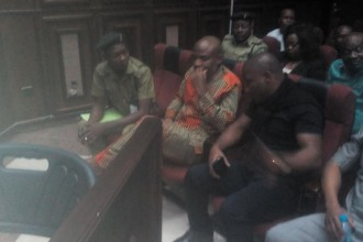 [BREAKING] Radio #BIAFRA Director Nnamdi Kanu arrives court for consideration of bail [PHOTO]