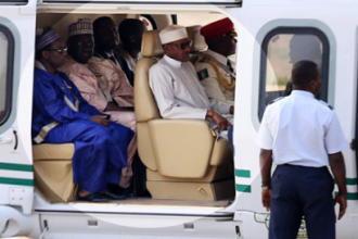 [PHOTO NEWS] President Buhari departs for UAE