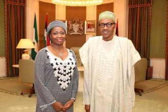 [PHOTO NEWS] Buhari appoints Abike Dabiri-Erewa SSA on Foreign Affairs & Diaspora