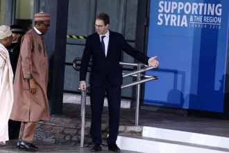 [PHOTO NEWS] President Buhari attends SUPPORT SYRIA CONFERENCE ignores BOKO HARAM Victims