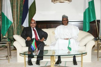 [PHOTO NEWS] South African President Jacob Zuma visits Buhari