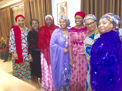 [PHOTO NEWS] Speaker Dogara's wife and state governors' wives represent Aisha Buhari at a conference in Malaysia