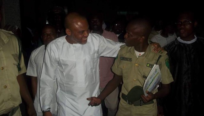 [VIDEO] #IPOB Leader Nnamdi Kanu moving speech in Court today