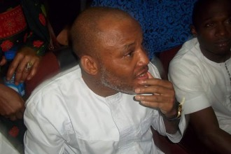 [BREAKING] #IPOB Leader NNAMDI KANU ARRIVES COURT,Judge John Tsoho hands off Case