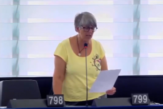 "[VIDEO] EU PARLIAMENTERIAN, JULIE WARD CALLS FOR ""IMMEDIATE AND SAFE RELEASE"" OF NNAMDI KANU"