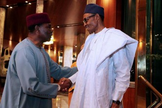 [PHOTO NEWS] Gowon meets Buhari to discuss #BIAFRA