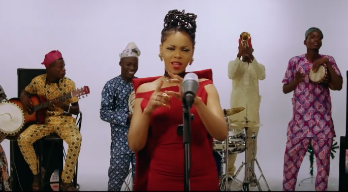 [MUSIC VIDEO] Chidinma – For You (Christmas Special)