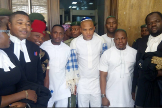 [BREAKING] COURT SUSPENDS SECRET TRIAL OF NNAMDI KANU