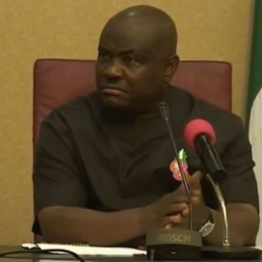 """[VIDEO] You are """"BIASED"""" Gov.Wike tells Inspector General of Police"""