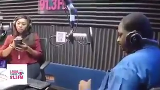 "[VIDEO] President Buhari's Media Aide Femi Adesina humiliates Dede Mabiaku on 91.3 FM by telling ""SHUT UP"" on Air"