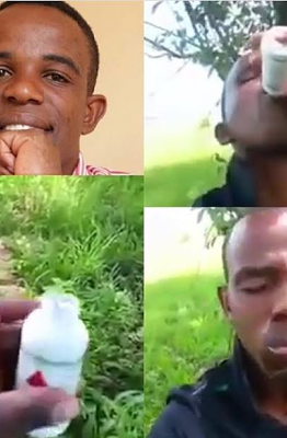[VIDEO] Pastor commits suicide over conflict with girlfriend on Facebook Live in Zimbabwe