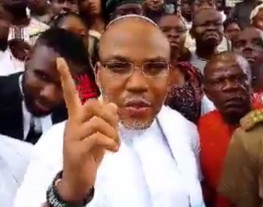 """[VIDEO] #IPOB Leader Nnamdi Kanu makes a STRONG CASE for the """"Northerners"""" in Court today.#BIAFRA"""