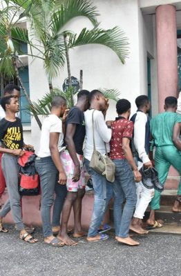 [PHOTO NEWS] Nigerian Government arraigns 28 men in Court for #HOMOSEXUALITY