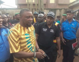 [PHOTOS] Badoo Cult leader & chief herbalist arrested by Police