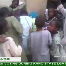 [VIDEO] How under-aged children voted during #Kano State Local Government #Election