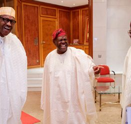 [VIDEO] #Tinubu, #Akande hold closed door meeting with #Buhari