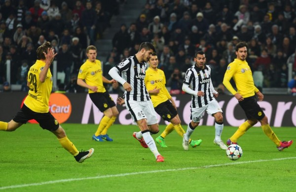 Juventus 2-1 Dortmund: Old Lady Edge Narrow Win in Turin