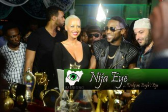 Amber Rose,others join D'banj to celebrate 10th anniversary (VIDEO+PHOTO NEWS)