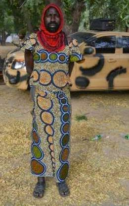 Terrorists disguised as women arrested in Baga