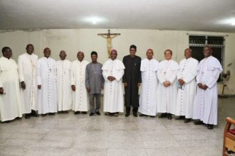 Buhari meets Catholic Bishops in Abuja, says he doesn't have any religious agenda