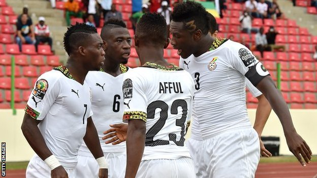 Ghana reaches Semi final beating Guinea 3-0