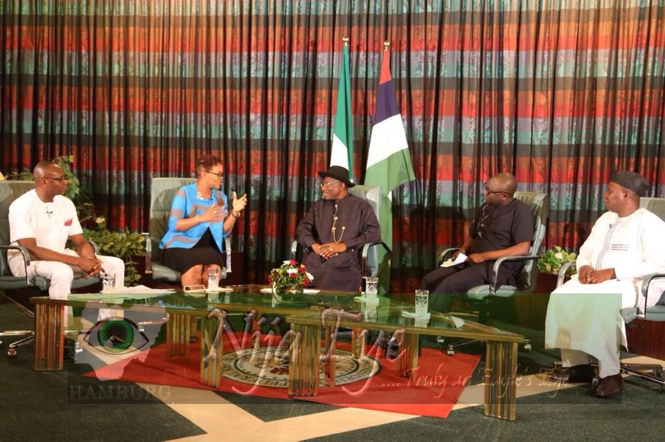 Highlights of President Jonathan 8th Presidential Media Chat Today (PHOTOS)